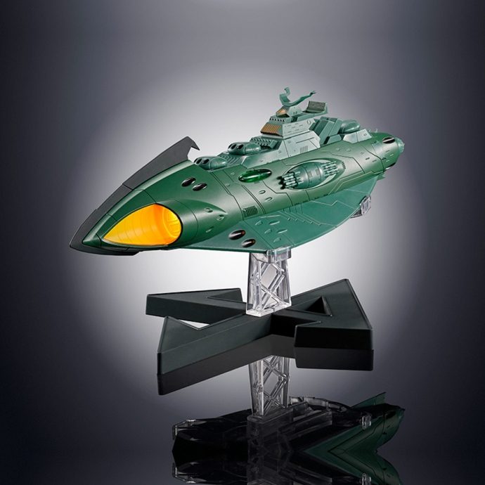 GX-89 Garmillas Space Cruiser Space Battleship Yamato 2202 - Soul of Chogokin