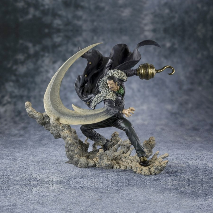 Figurine One Piece - Sir Crocodile Marineford - Figuarts Zero Bandai