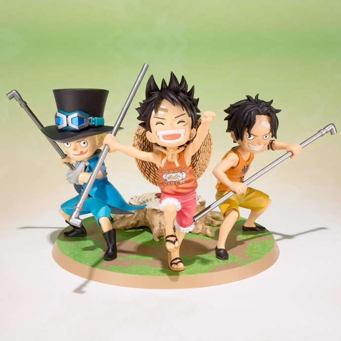 One Piece Luffy Ace Sabo - Figuarts Zero