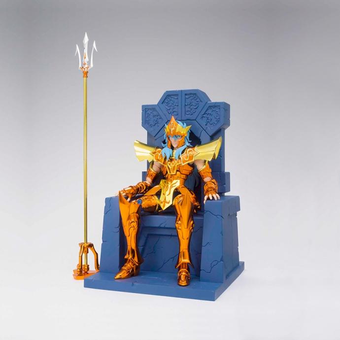Poseidon Julian Solo Imperial Throne Set Myth Cloth EX Saint Seiya