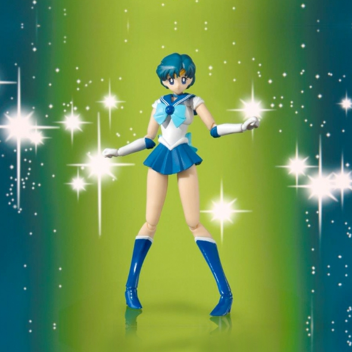 Sailor Moon - Sailor Mercury Anime Color Edition - S.H.Figuarts