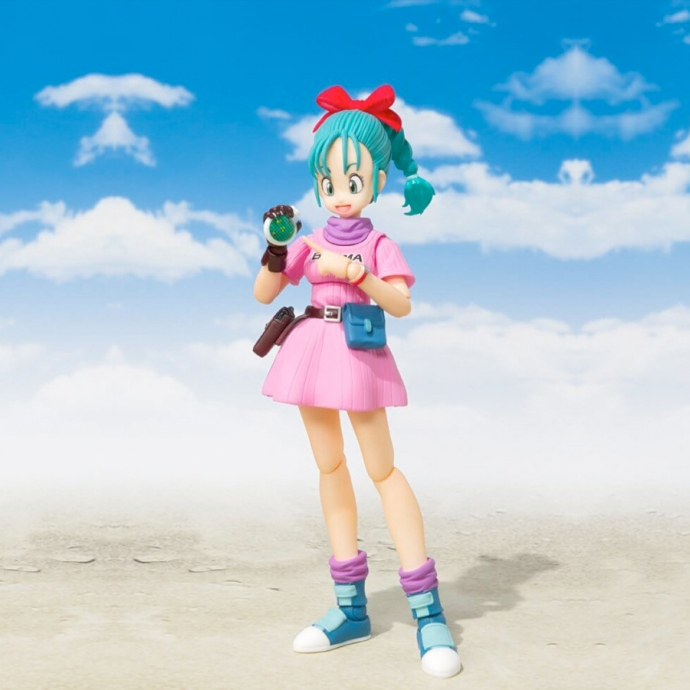 Boîte abîmée : Dragon Ball Bulma Adventure begins - S.H.Figuarts