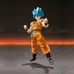 Boîte abîmée : Dragon Ball Super Broly Son Goku Super Saiyan God - S.H.Figuarts