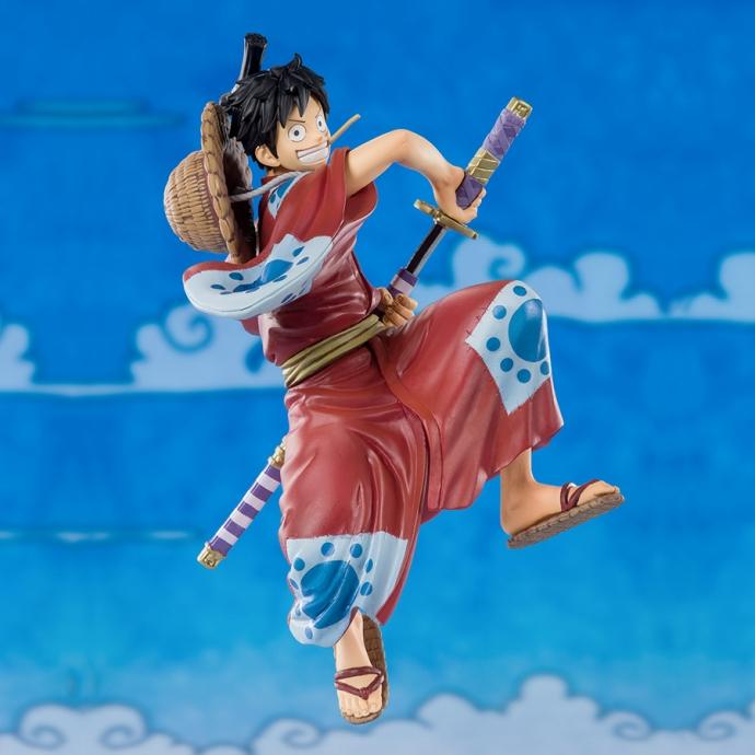 One Piece Luffy Taro Wa no Kuni - Figuarts Zero