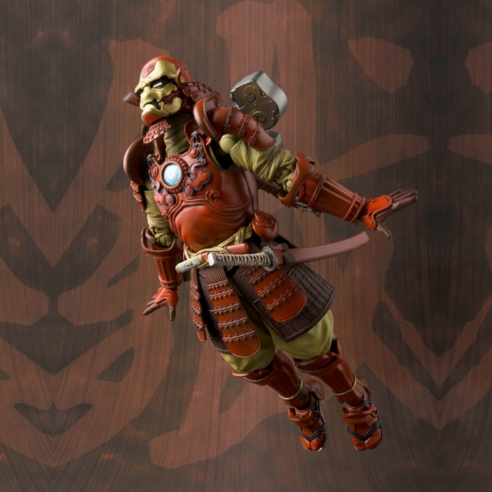 Boîte abîmée : Koutetsu-Samurai IronMan MK-3 - Manga Realization