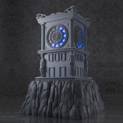 Boîte abîmée : Saint Seiya Horloge du Sanctuaire - Myth Cloth