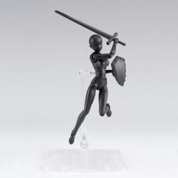Body-Chan DX Set 2 Black Color - S.H.Figuarts