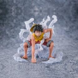 Figurine One Piece - Luffy Gear 2 Marineford - Figuarts Zero Bandai