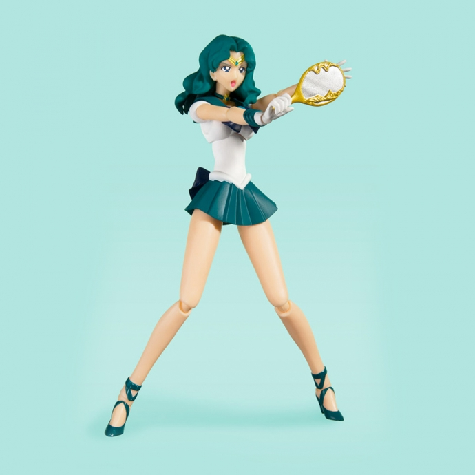 S.H.Figuarts Sailor Neptune Anime Color Edition Sailor Moon