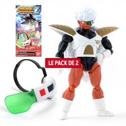 Pack 2 Figurines Dragon Ball : Jiece + Super Saiyan Scouter