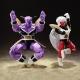 Pack 2 Figurines Dragon Ball : Jiece + Super Saiyan Scouter
