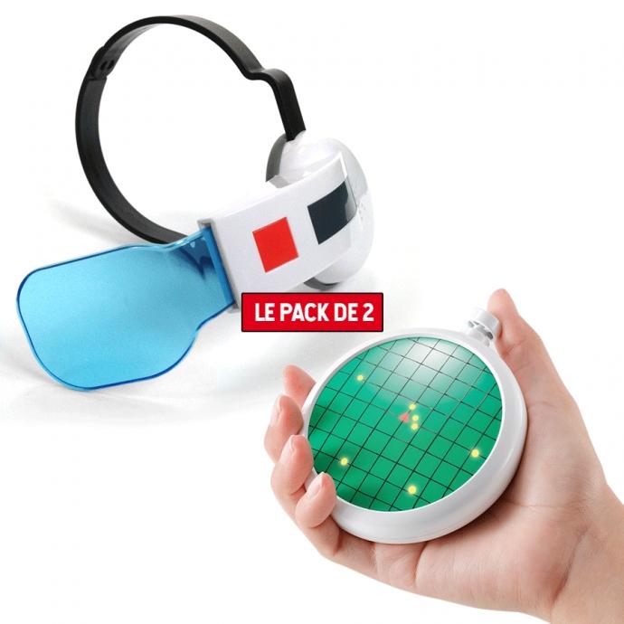 Pack Accessoires Saiyan Scouter Bleu + Radar Dragon Ball