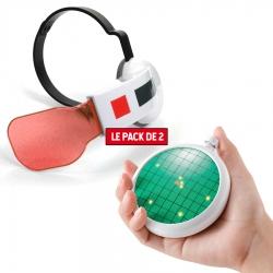 Pack Accessoires Saiyan Scouter Rouge + Radar Dragon Ball