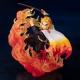 Figurine Demon Slayer Kyojuro Rengoku Flame Breathing Figuarts Zero