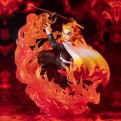 Figurine Demon Slayer Kyojuro Rengoku Flame Breathing Figuarts Zero