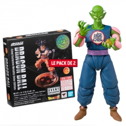 Pack Figurine + Accessoire Dragon Ball : Piccolo Daimaoh + Tamashii Stage