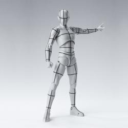 Body Kun Wireframe Gray - S.H.Figuarts