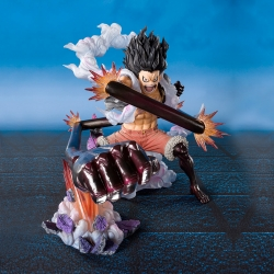 Figurine One Piece Luffy Gear 4 King Cobra - Figuarts Zero