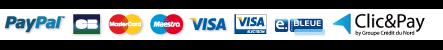 Moyens de paiements acceptés dans notre boutique