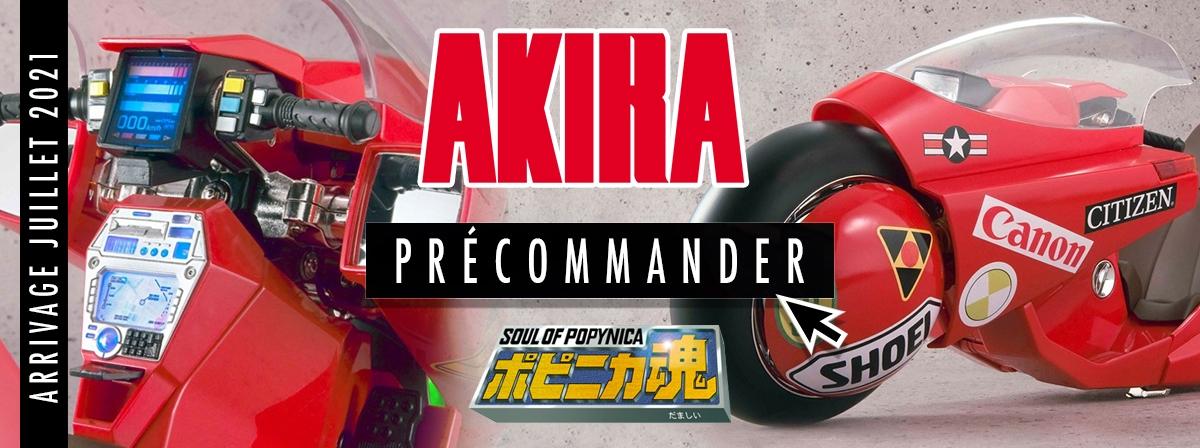 La moto de Kaneda du hit mondial d'anime AKIRA est sur le point d'exploser dans les collections du monde entier !