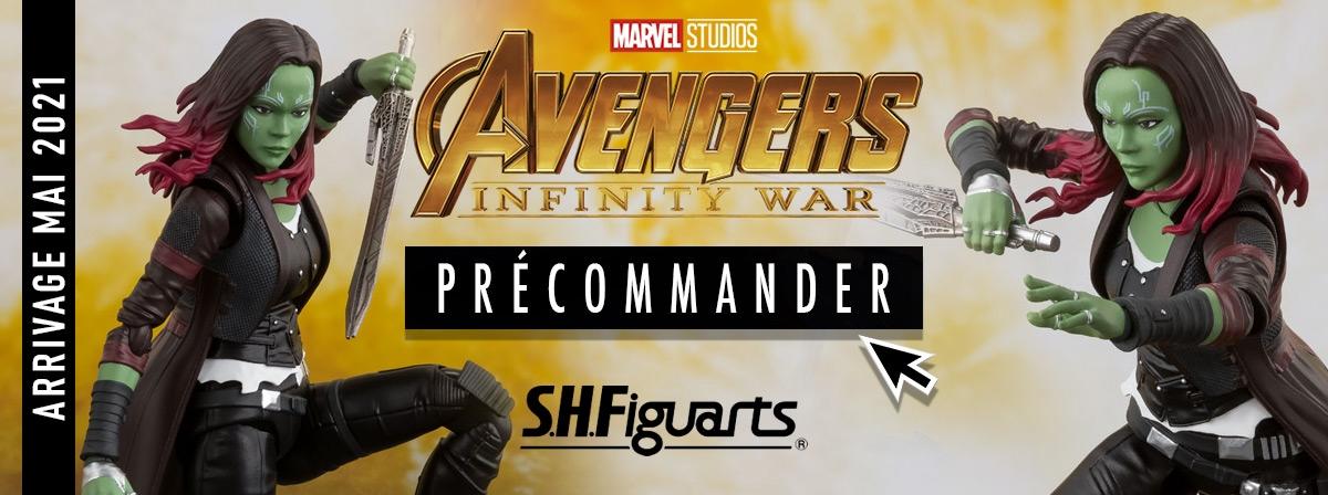 Précommande S.H.Figuarts Gamora Avengers Infinity War