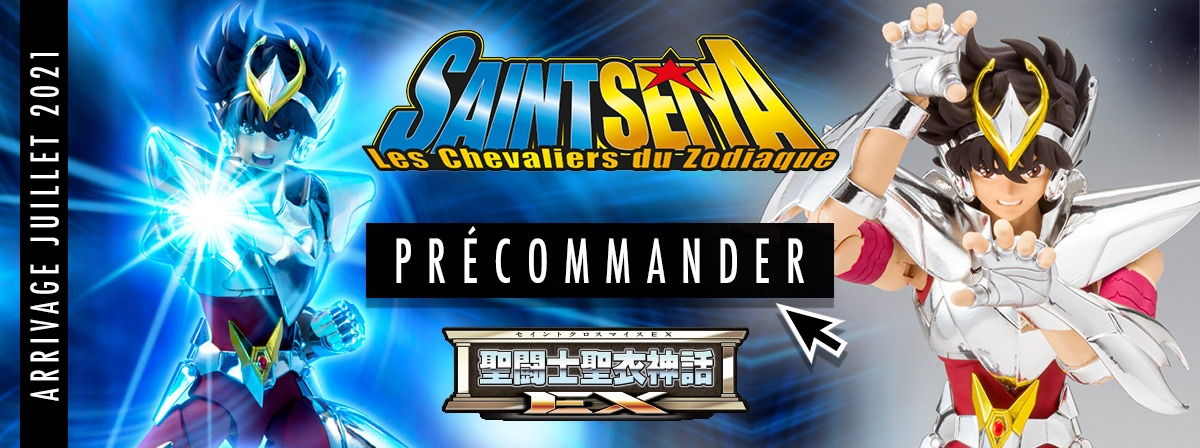 Précommande : Saint Seiya Pegasus Final Bronze Cloth - Myth Cloth EX