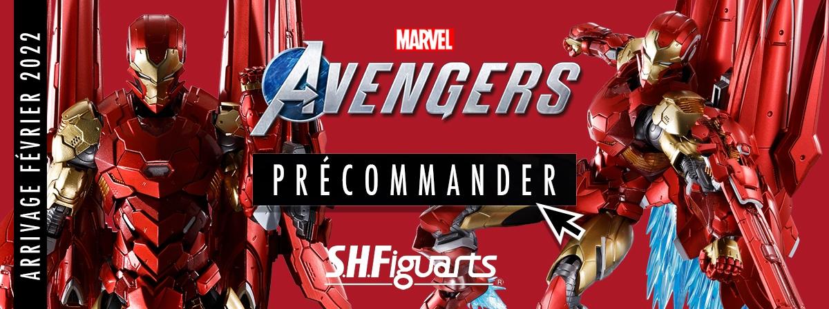 """""""TECH-ON AVENGERS est une nouvelle collaboration S.H.Figuarts entre Marvel Comics et Bandai Spirits !"""