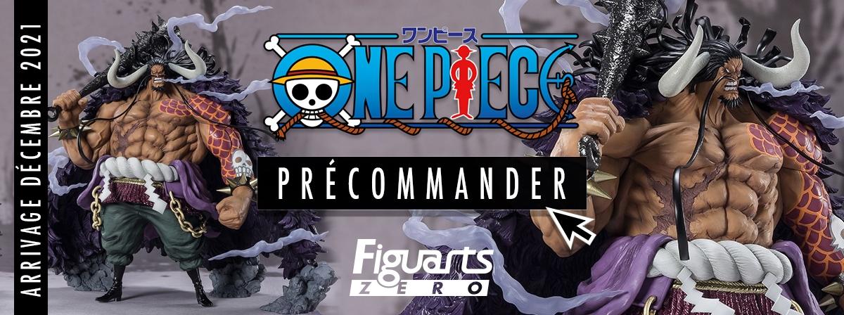 Certainement la Figuarts Zero One Piece la plus attendue : Kaido arrive dans la gamme Extra Battle.