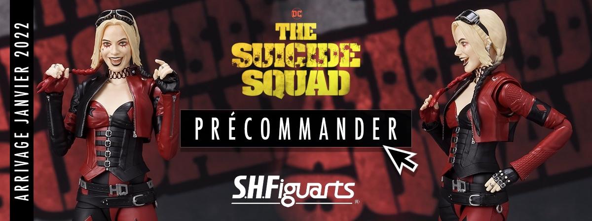 """Du dernier film de DC, """"The Suicide Squad"""" vient Harley Quinn dans un nouveau costume avec une palette de couleurs rouge et noire, similaire au image qu'elle avait lorsqu'elle est apparue pour la première fois dans les bandes dessinées !"""